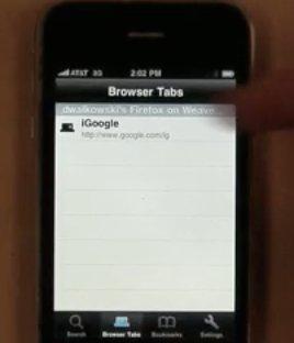 Firefox Home bientôt sur iPhone