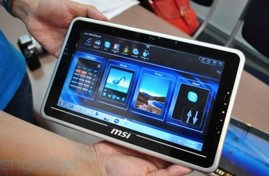 Msi présente ses tablettes Winpad