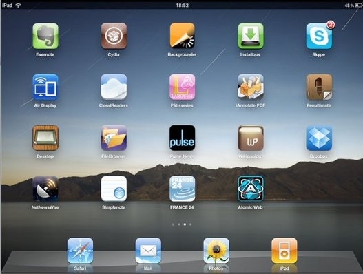 Jailbreak de l'iPad avec Spirit - 15 secondes et encore