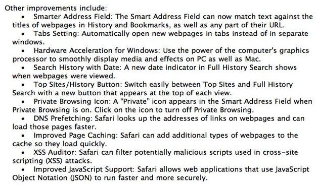 WWDC 2010 - Safari 5 annoncé ?