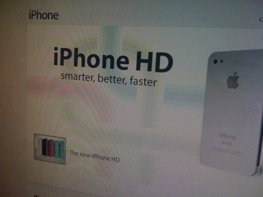 iPhone 4G / HD - La vrai fausse affiche du WWDC 2010