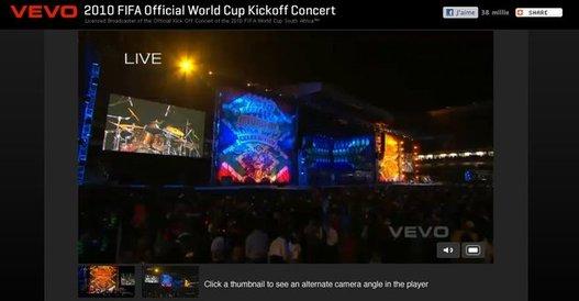 Le concert d'ouverture de la Coupe du Monde en Live