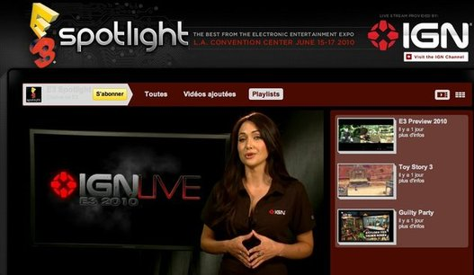 Le salon E3 2010 en direct Live