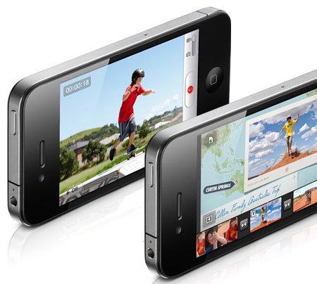 iMovie : Disponible uniquement sur iPhone 4