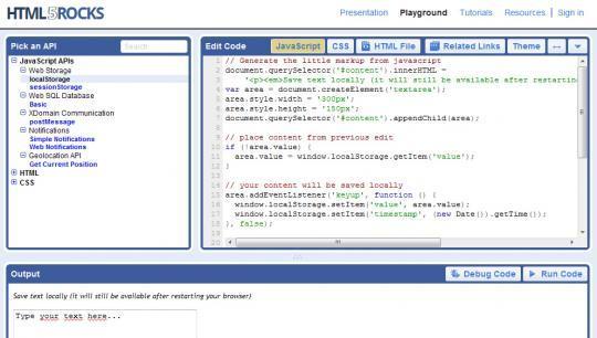 Google s'intéresse au HTML5