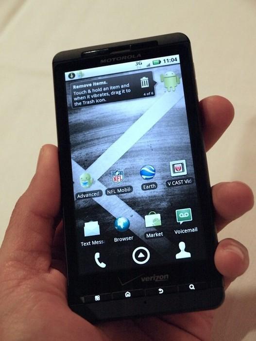 Motorola lance son Droid X