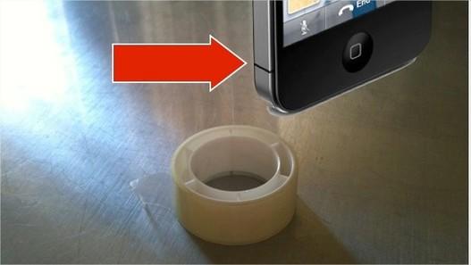 iPhone 4 - Résoudre le problème d'antenne avec un peu de scotch