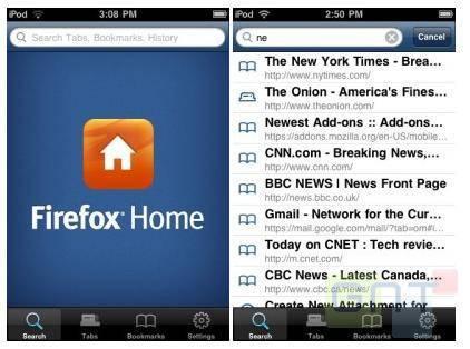 Firefox Home arrive bientôt sur l'AppStore
