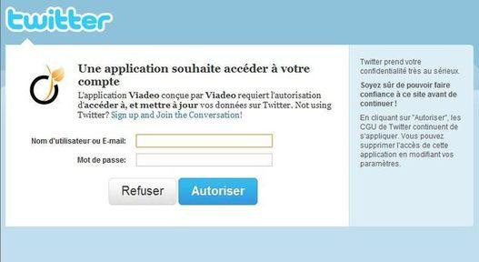 Twitter et Viadeo peuvent maintenant s'échanger des informations