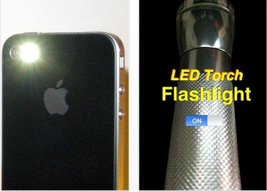 Transformez votre iPhone 4 en torche électrique gratuitement