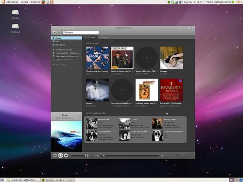 Spotify fait son arrivée sur Linux