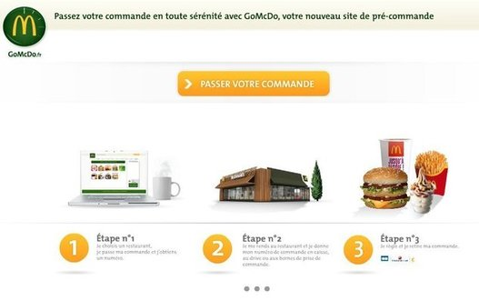 Commandez votre Big Mac sur Internet