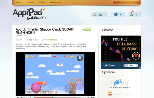 Télécharger des applications gratuites pour iPad