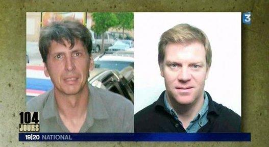Soutien aux otages Stéphane Taponier et Hervé Guesquière