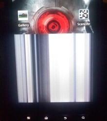 Le Motorola Droid X a déjà des soucis d'écran