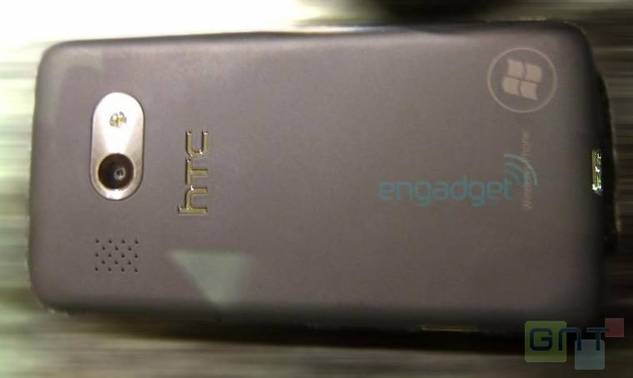 Des images d'un HTC sous Windows Phone 7