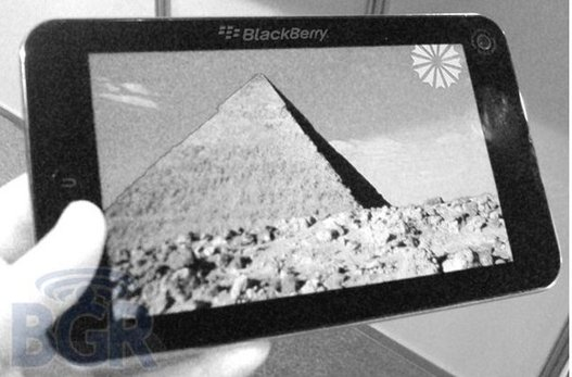 BlackPad - Le futur nom de la tablette Blackberry ?