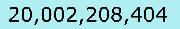 Twitter et ses 20 milliards de Tweet