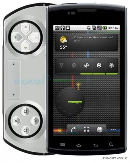 Un mobile PSP sous Android pour Sony Ericsson en Octobre ?