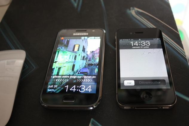 Une journée avec un Samsung Galaxy S