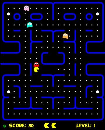 Jouez à Pac Man en HTML 5