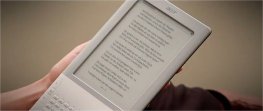 Acer LumiRead - Le futur concurrent du Kindle d'Amazon