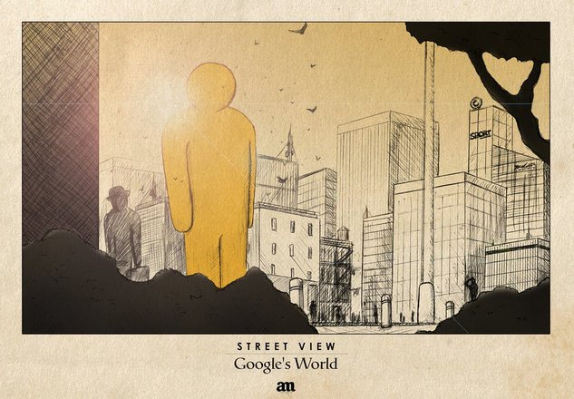 Google World vu par un artiste