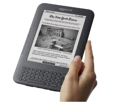 Kindle 3 VS iPad - La pub qui contre Apple