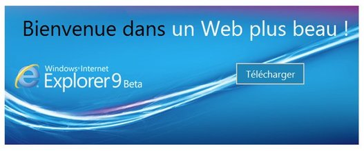 Internet Explorer 9 - Lancement en direct Live dès 20h