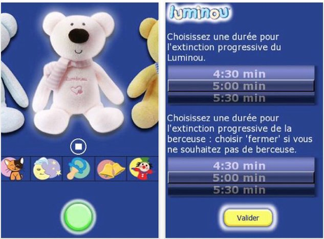 Luminou - Le doudou virtuel sur iPhone