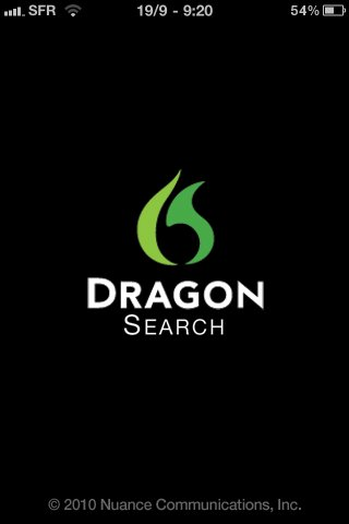 Dragon Dictation et Dragon Search sur iPhone