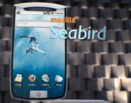 Mozilla Seabird - Le concept Mobile selon Mozilla