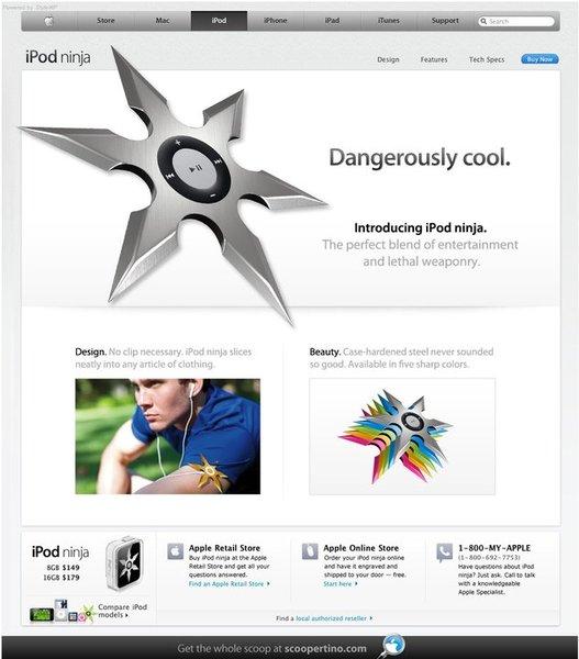 iPod Ninja - Une tuerie :)