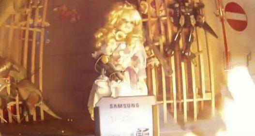 Les cartes SD Samsung semblent très solides
