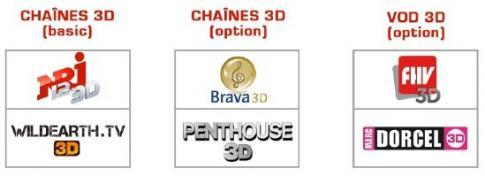 De la 3D pour Free avec prochainement 4 chaines et 2 VOD