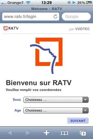 RATV - Hotspot dans le métro parisien ?