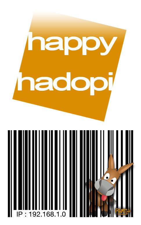 65 centimes - le prix d'Hadopi
