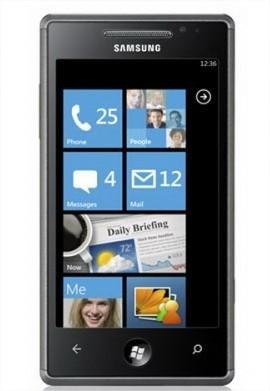 Samsung Omnia 7 et LG Optimus 7, les 2 premiers Windows Phone 7