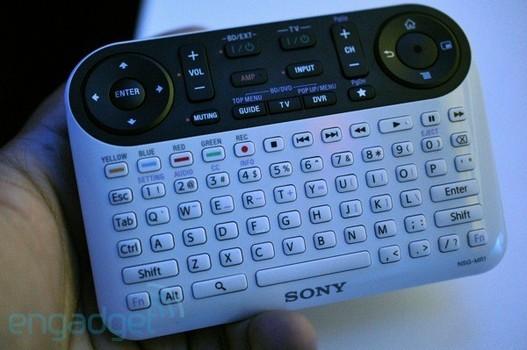 Google Tv - La télécommande et le téléviseur Sony en images
