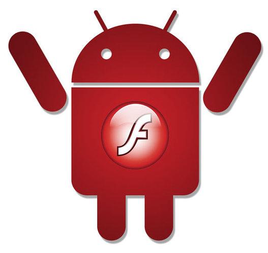 Flash sur Android - déjà un million de téléchargements