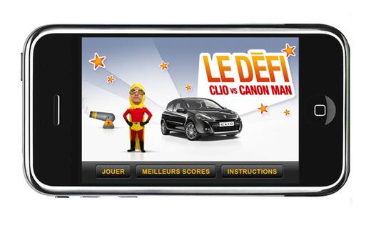 Clio VS CanonMan : un jeu pour vous éclater !