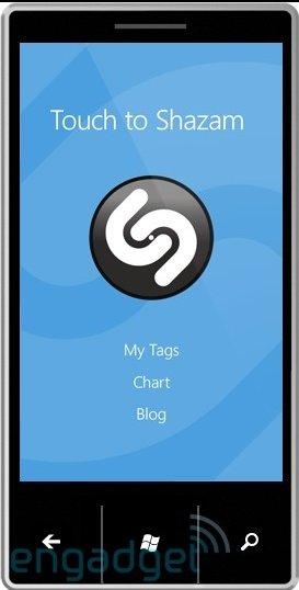 Shazam fait son arrivée sur Windows Phone 7