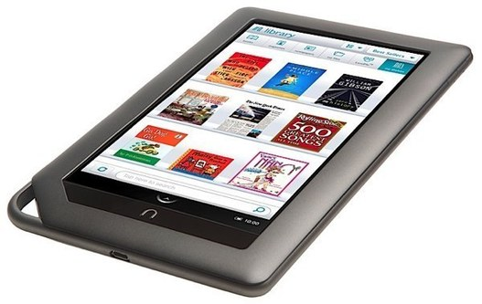 Barnes & Noble lance leur tablette avec la Nook Color