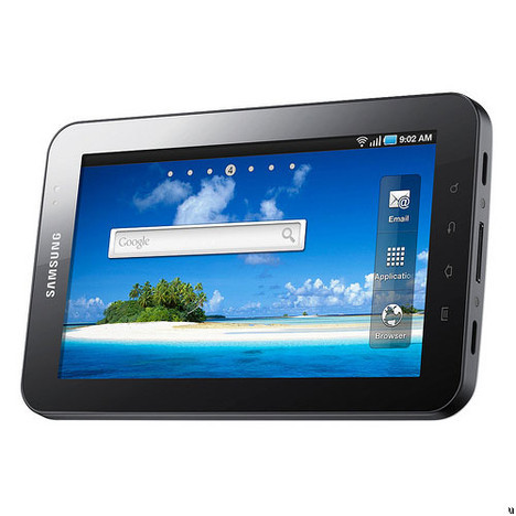 La Samsung Galaxy Tab est disponible en France