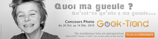 Concours Photo Geek-Trend