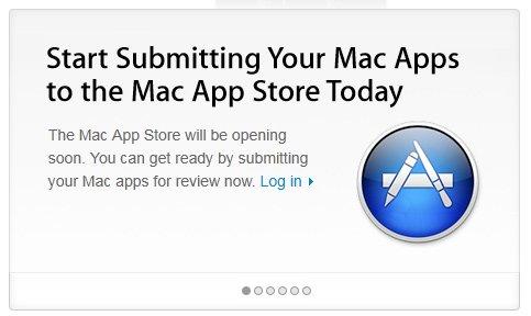 Mac App Store - à vous chers développeurs de soumettre vos applications