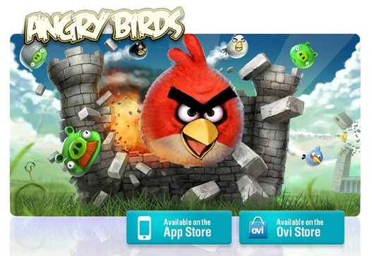 Angry Birds - La barre de 10 millions de téléchargements payants franchit