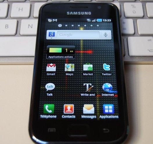 Samsung Galaxy S - Premières impressions