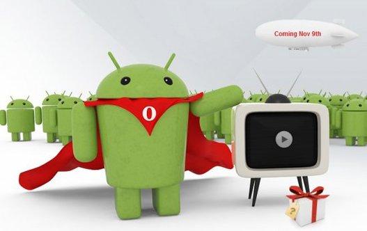 Opera Mobile 10.1 bêta est disponible sur Android