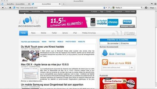 Firefox 4 - La bêta 7 disponible au téléchargement